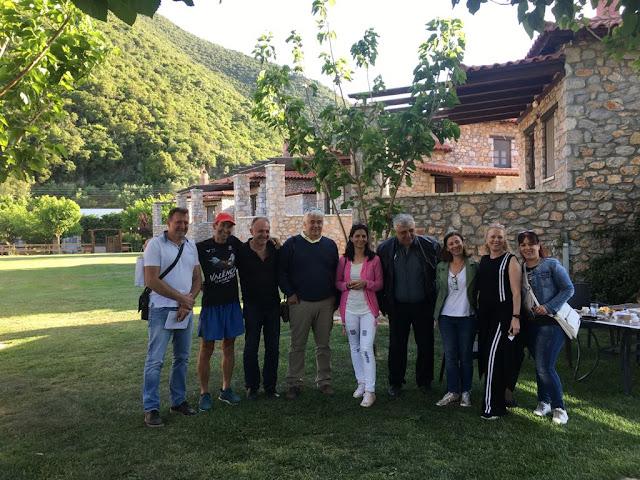Επίσκεψη της Βουλγαρικής ΟΤΔ «Troyan, Apriltsi, Ugarchin» στην Αναπτυξιακή Πάρνωνα στο Λεωνίδιο Αρκαδίας
