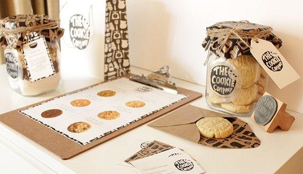 Thiết kế bao bì sản phẩm đẹp Cookie