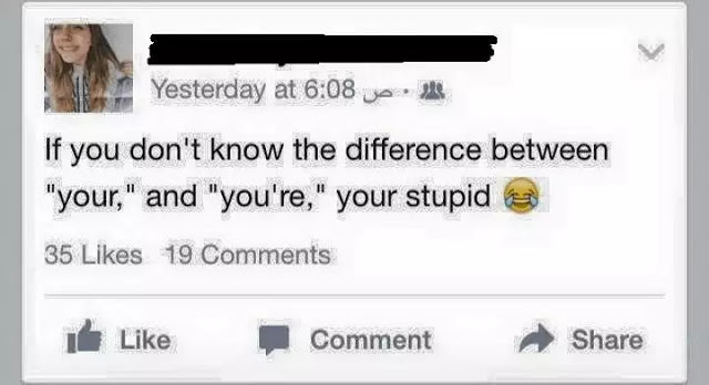 Difference between stupid