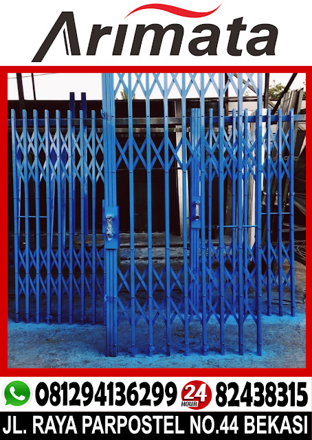 folding gate untuk daerah tangerang.