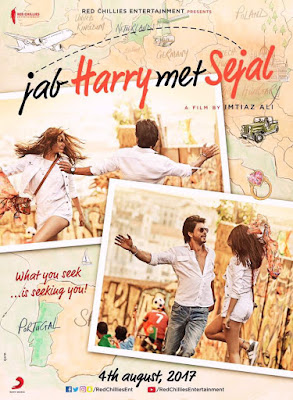 Poster of Jab Harry Met Sejal feat. SRK and Anushka Sharma