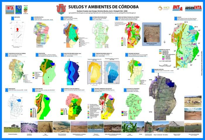Agronom a en la pampa suelos y ambientes de c rdoba for Ambientes de argentina