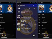 BBM Real Madrid Apk 2016