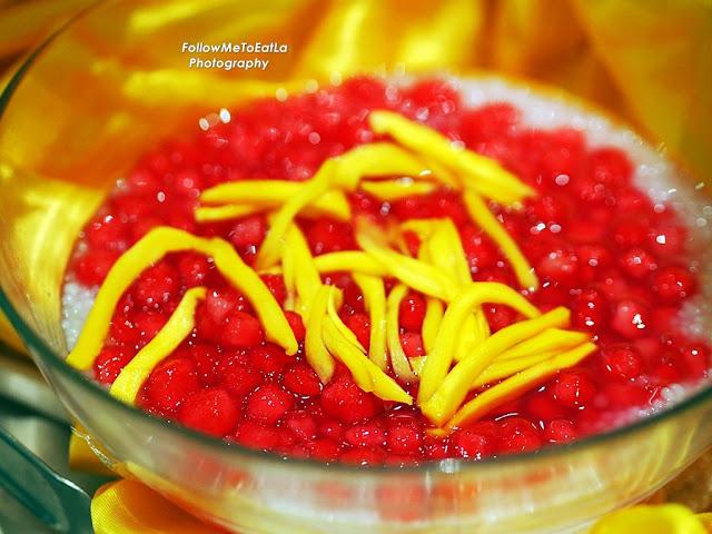 Must Try - Red Ruby Dessert