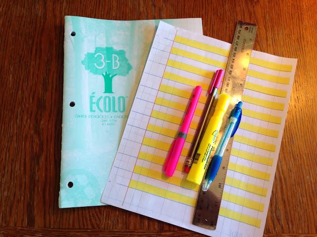 DYSPRAXIE: aide à l'écriture