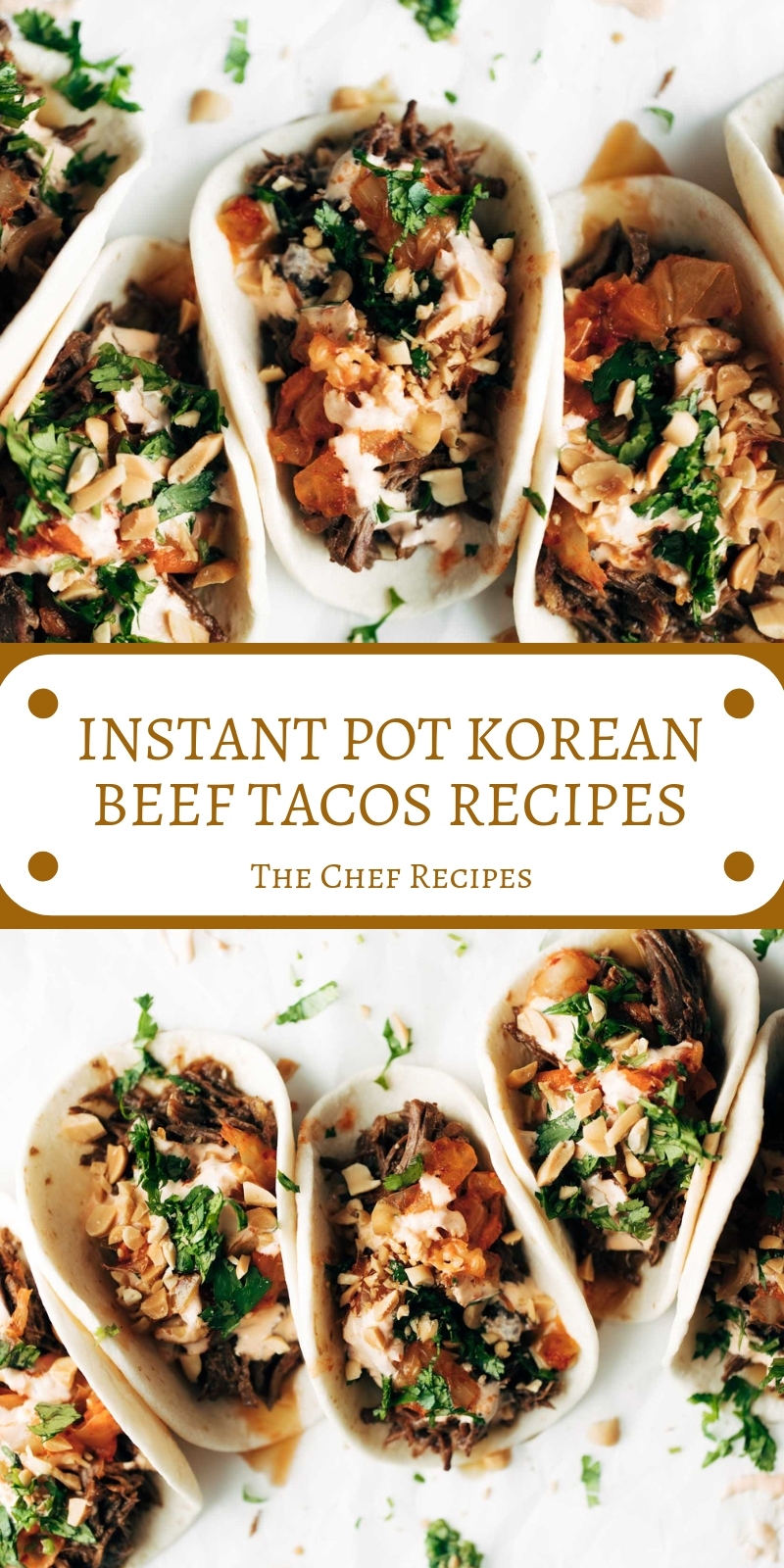 INSTANT POT KOREAN BEEF TACOS RECIPES