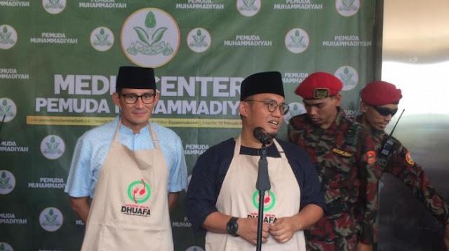 Kata Ketua Pemuda Muhammadiyah Soal Sebutan Ulama Sandiaga Uno