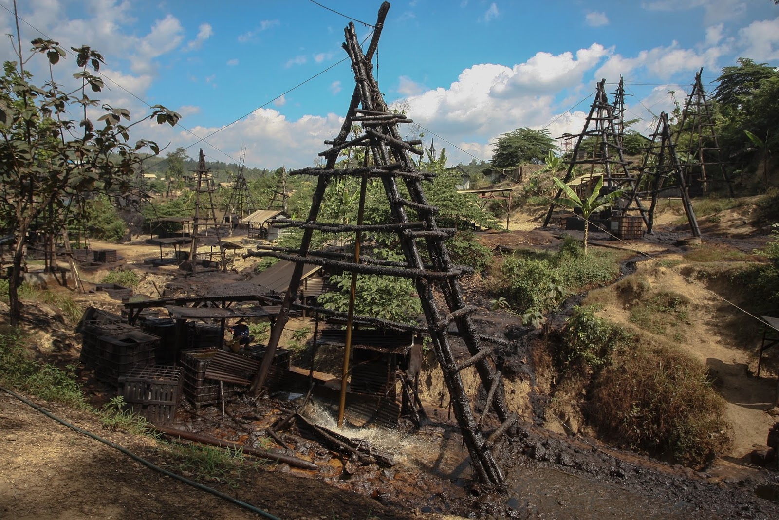Tourism in Oil and Gas Area around the Texas of Indonesia, Mind to Try?