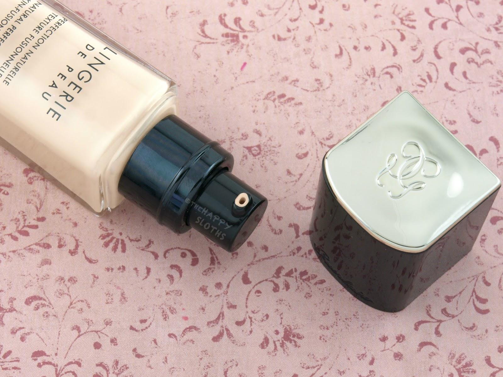 Guerlain Lingerie de Peau Foundation & Multi-Perfecting Concealer: Review and Swatches