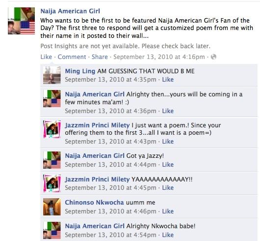 Naija American Girl: 2011