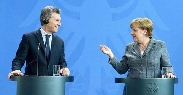 Macri y Merkel