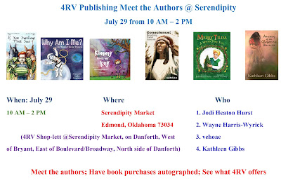 5 4RV Authors Have Signings in 2 Events July 29