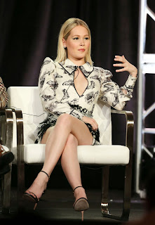 Kelli Berglund at 'Now Apocalypse' TV Show Panel at TCA Winter Press Tour in LA