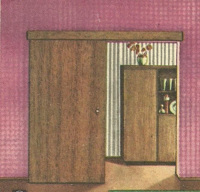 Так выглядит дверь, сделанная домашним мастером