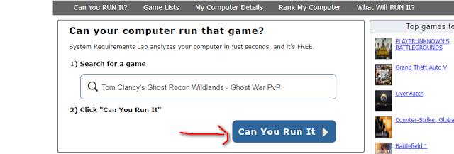 طريقة معرفة إذا كانت ستشتغل معك أي لعبة على حاسوبك قبل تحميلها