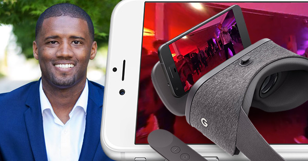 Michael Purnell, founder of Sievent, an all-in-one virtual reality ticketing platform
