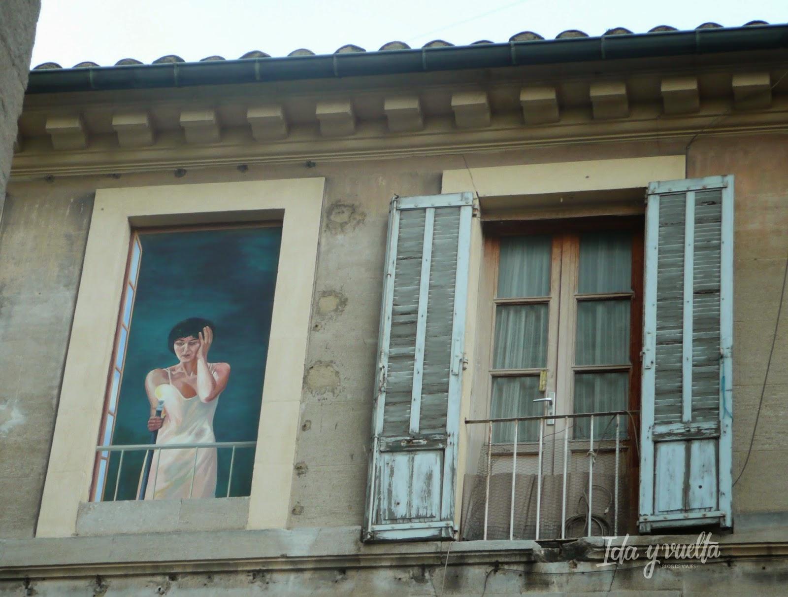 Trampantojo en Avignon