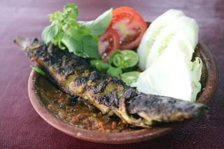 Ikan Lele Bakar