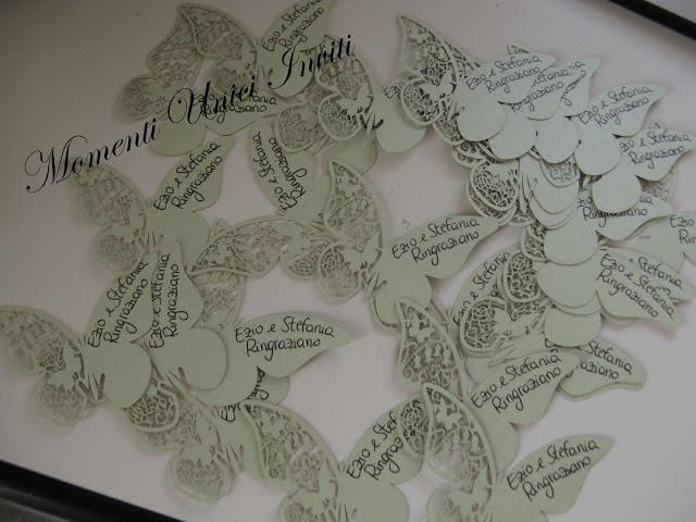 IMG_5611 Farfalle segnaposto di ringraziamento...Segnaposto