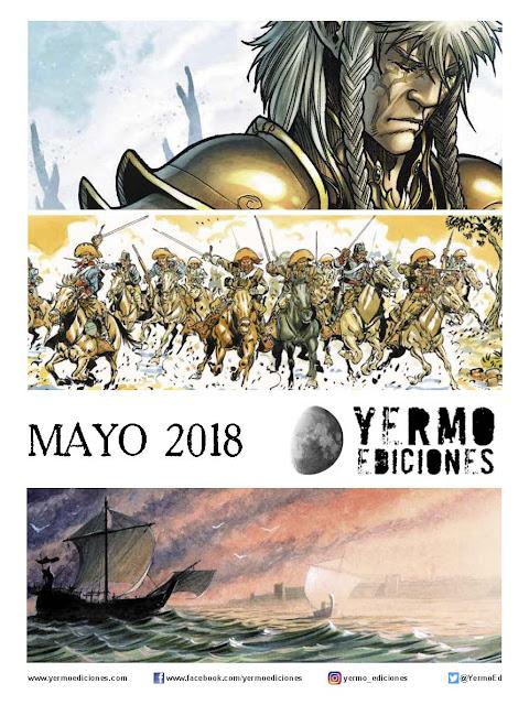 """Novedades de mayo 2018 de """"Yermo Ediciones"""""""