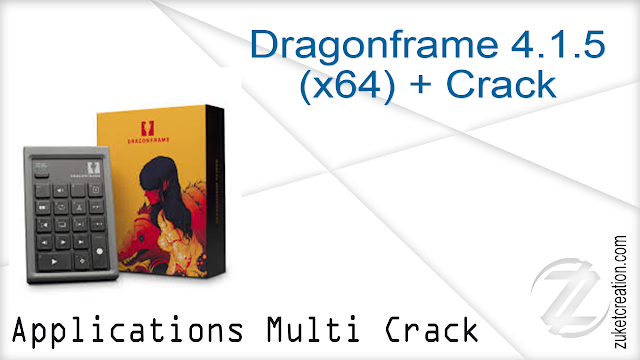 Dragonframe 4.1.5  (x64) + Crack