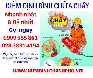 Công dụng của bình chữa cháy