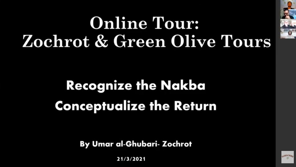 Nakba + Return