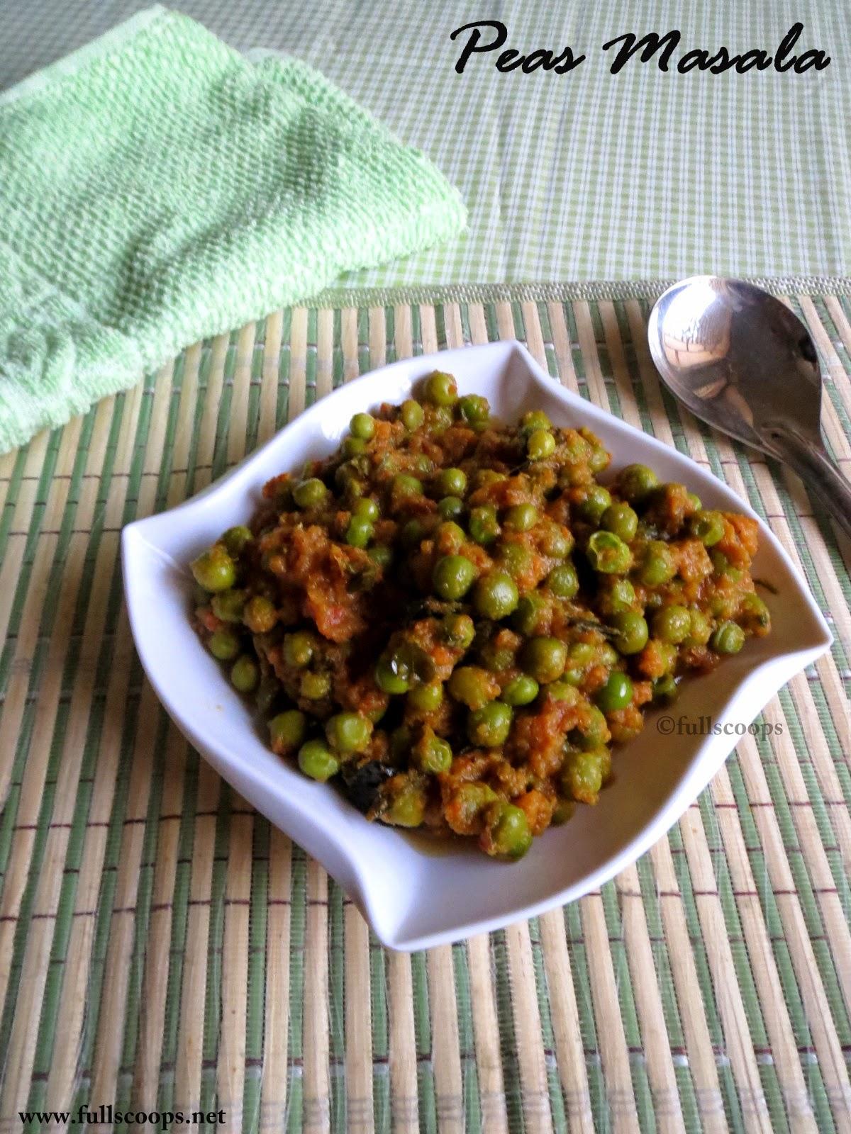 Easy Peas Masala