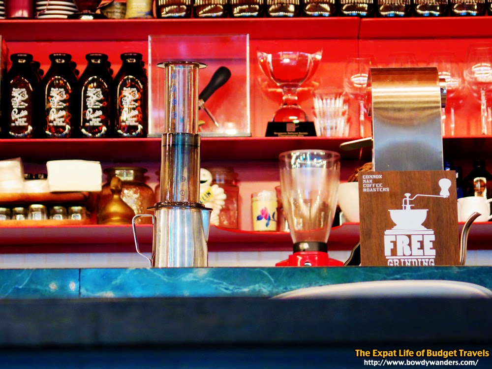 bowdywanders.com Singapore Travel Blog Philippines Photo :: Singapore :: Common Man Coffee Roasters, Robertson Quay