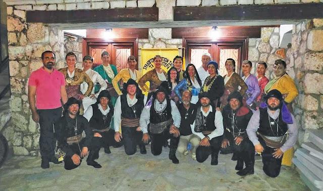 """Στο νησί της Λευκάδας βρέθηκαν τα μέλη του Συλλόγου Ποντίων Σαπών """"τα Κασσιτερά"""""""
