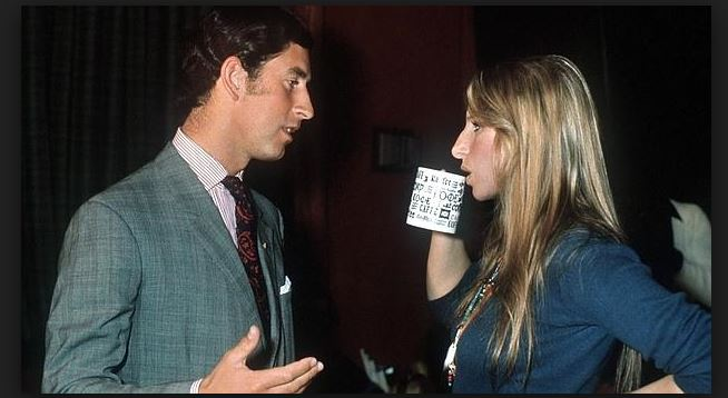 Principe Carlos un romance con Barbara Streisand