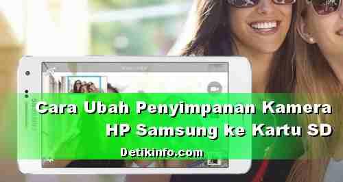 Cara setting penyimpanan kamera HP Samsung ke MicroSD