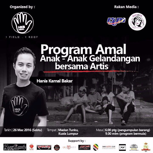 PROGRAM CHARITY ANAK-ANAK GELANDANGAN