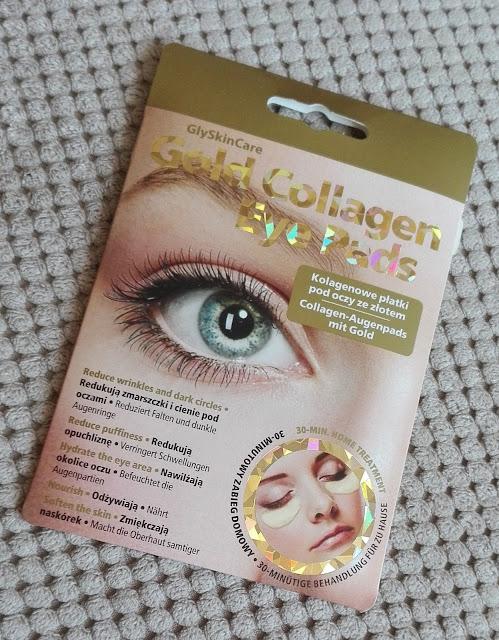Płatki kolagenowe GlySkinCare Gold, czyli ratunek dla suchej skóry pod oczami