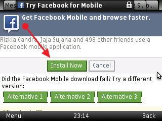 Download aplikasi facebook untuk hp nokia x2 00