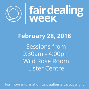 fair dealing week 2018