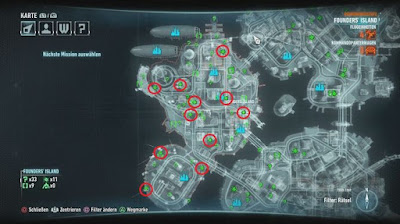 Batman Arkham Knight, Breakable Object Location, Founders Island