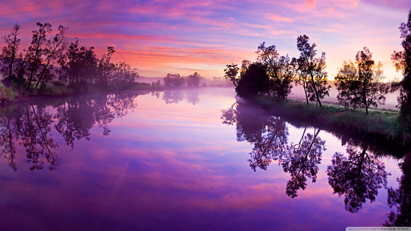 River Reflections HD wide Wallpaperswide