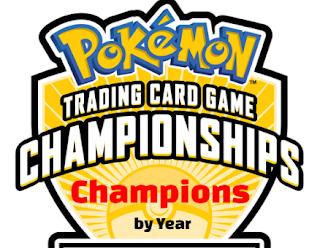 pokemon TCG world championship, past winners-champions, results, history, list, by year