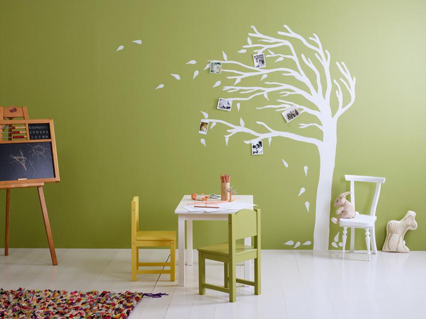 pintura arbol habitaciones infantiles