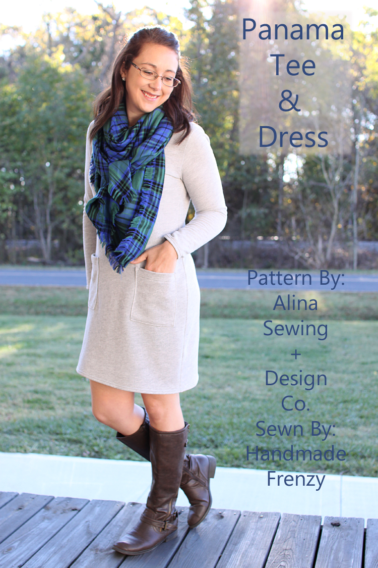 Panama Tee & Dress Pattern // Sewing For Women // Handmade Frenzy