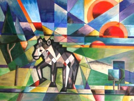 contoh aliran seni rupa kubisme