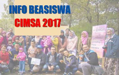 beasiswa cimsa 2017