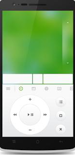 شاشة الاستخدام لبرنامج Mouse Remote