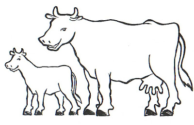 La Chachipedia Vacas Toros Y Bueyes Para Colorear
