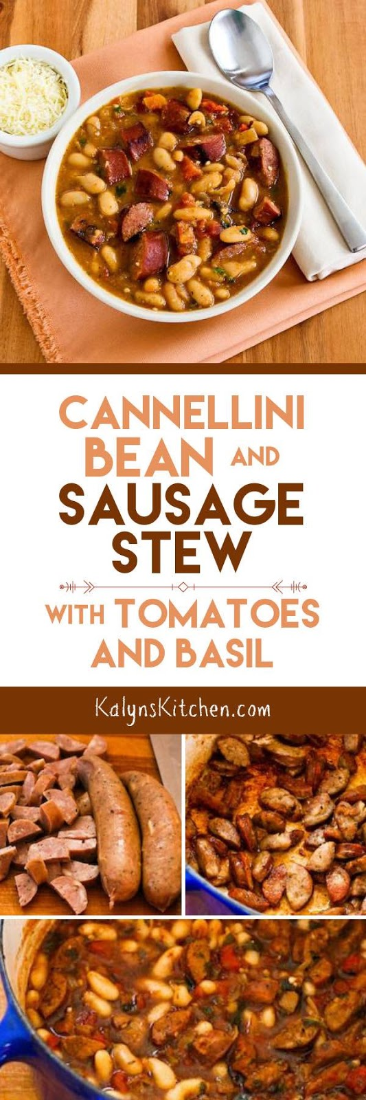 ... Kitchen®: Cannellini Bean and Sausage Stew with Tomatoes and Basil