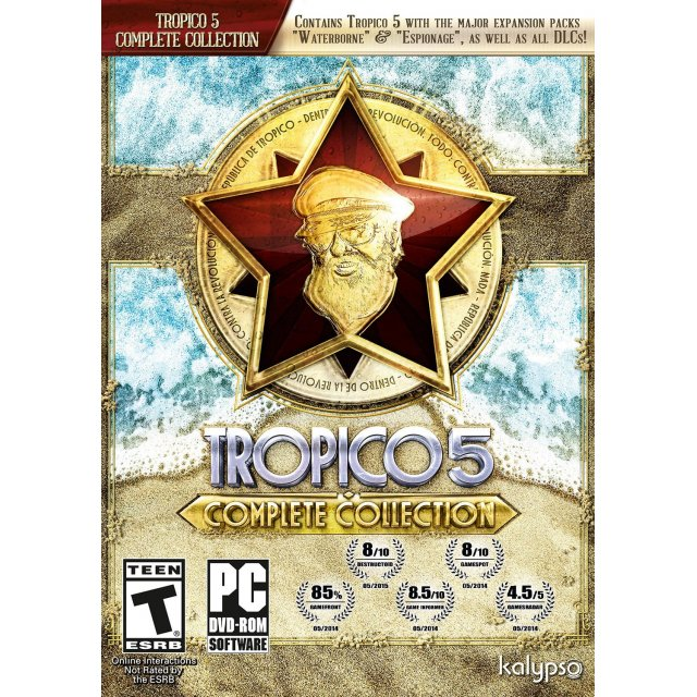 tropico 5 complete collection dvdrom 452111.1 - Tropico 5 Complete Collection PC
