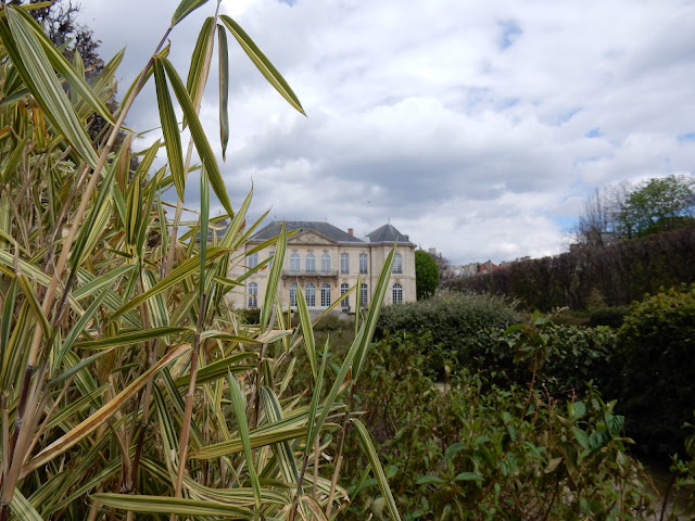 View of Hotel Biron (Musee Rodin) from the garden