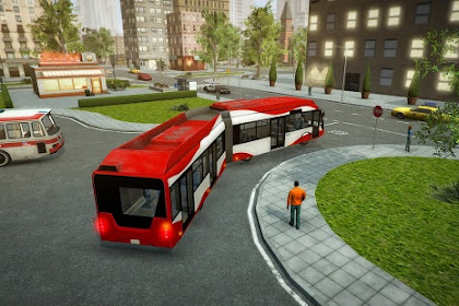 Download Game Android Bus Simulator PRO 2017 v1.4 MOD Apk + OBB Data [Full + Unlimited Money & Unlocked]
