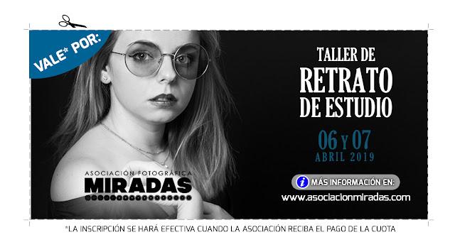 Taller de retrato de estudio con Lidia Sánchez - VALE